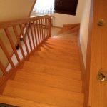 Viertelgewendelte Treppe- Kiefer